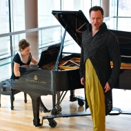 Gidon Saks + Susan Ball at the Four Seasons Center for the Performing Arts