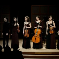 Lara St. John and Cecilia Quartet