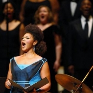 Measha Brueggergosman at the Oscar Peterson Tribute